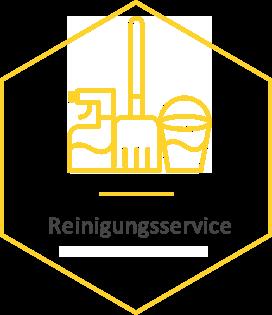 Reinigungsservice badge
